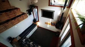 home design flooring firefighter s self built tiny house is an earthship on wheels