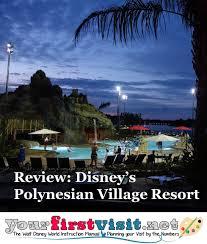 Polynesian Resort Map Review Disney U0027s Polynesian Village Resort