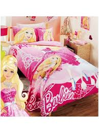 Kid Bedding Sets For Girls by Barbie Fashion Fairytale Quilt Cover Set From Kids Bedding Dreams