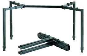 Heavy Duty Folding Table Quik Lok Ws550 1 Tier Heavy Duty Keyboard Stand W Folding Table