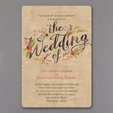 wood and petals invitation u003e wedding invitations carlson craft