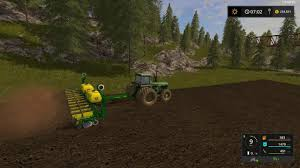 John Deere 7200 Planter by John Deere 7200 24 Row Planter V1 0 0 Fs17 Farming Simulator 17