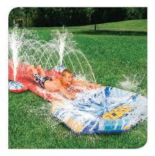 geyser blast water slide banzai backyard fun