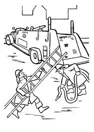 firefighter coloring pages free print coloringstar
