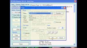 how to use the auto scan function in vcds youtube