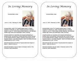10 best images of free template memorial obituary free funeral