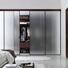slide door wardrobes trend bedroom luxury frosted glass sliding