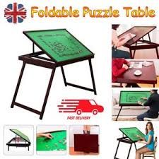 jigsaw puzzle tables portable jigsaw puzzle carrier case carry board portable folding table