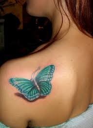 3d delicate butterfly design idea