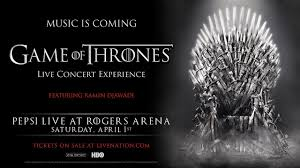 game of thrones live concert experience rogers arena