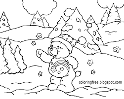 winter coloring pages activity village christmas activity gift