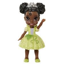 disney princess tiana mini toddler doll black toys