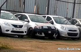 nissan micra vs ford figo is this the nissan micra sunny facelift a closer look at it and