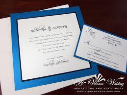 blue and white wedding invitation u2013 a vibrant wedding