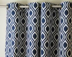 Grey And Blue Curtains Curtains Pair 25 Wide Premier Print Storm Grey White