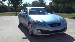 hd video 2010 hyundai genesis track used for sale aqua blue 3 8