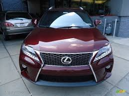 lexus rx 350 f sport 2013 2013 claret red mica lexus rx 350 f sport awd 69657793 photo 7