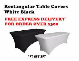 8 ft table skirt 4 ft black dj table cover stretch scrim spandex type table skirt