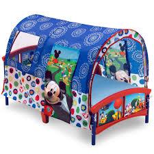 Doc Mcstuffins Toddler Bed With Canopy Disney Toddler Beds Walmart Com