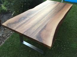 Esszimmertisch Naturkante Küchenmöbel Von Handarbeit Günstig Online Kaufen Bei Möbel U0026 Garten