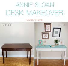 chalk paint by annie sloan coastal desk makeover