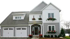Christmas Window Box Decorations by Eclectic Christmas House Tour On The Lake