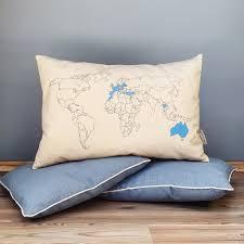 World Map Bedding World Map Pillow U2013 Mars U0026stars Art Studio