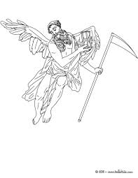 chronos the greek titan god of time coloring pages hellokids com
