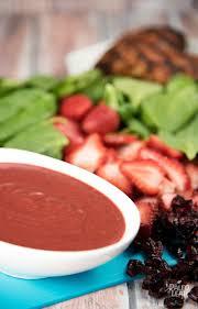 blackened chicken with strawberry salad paleo leap