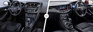 opel astra interior ford focus vs vauxhall astra comparison carwow