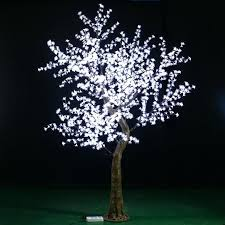 outdoor lighted cherry blossom tree led lights trees led tree light led lights for indoor trees