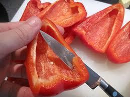 comment cuisiner les poivrons rouges coulis de poivrons rouges recette de cuisine illustrée