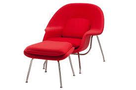 replica eero saarinen womb chair and ottoman for 850 00 5 off