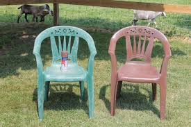 Paint For Outdoor Plastic Furniture by Painting Plastic Chairs