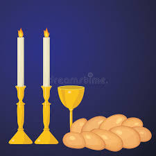 sabbath candles traditional sabbath candles kiddush cup and challah