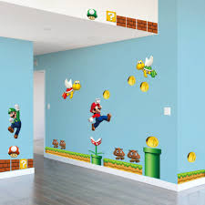 super mario 3d wall stickers for kids room liviing room bedroom super mario 3d wall stickers for kids room liviing room bedroom home decor