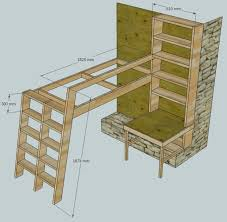 Loft Beds With Bookshelf Ladders  Steps With Pictures - Step 2 bunk bed loft
