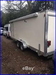Cargo Trailer Awning Trailer Workshop Caravan Car Transporter Race Trailer Full