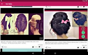 easy hair styles android apps on google play