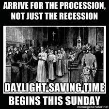 Episcopal Church Memes - episcopal church memes daylight saving time begins this sunday