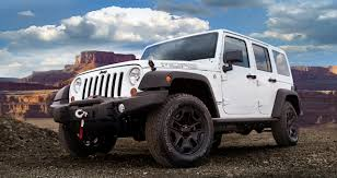 rubicon jeep white 2017 jeep wrangler moab special edition unveiled autoevolution