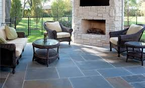 waterproof a patio with a natural look