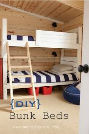 Build A Bunk Bed Land Of Nod Inspired Bunks This Mamas Dance