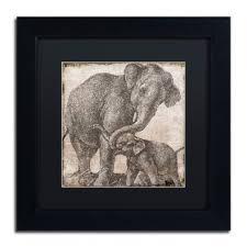urban elephant ring holder images Elephant wall art you 39 ll love wayfair jpg