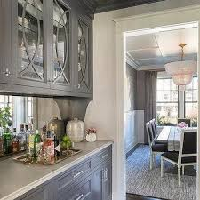 Ideas Concept For Butlers Pantry Design Blue And Gray Butlers Pantry Concept Design Ideas