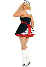 Halloween Costumes Sailor Woman Women U0027s Sailor Dress Halloween Costume Navy Role