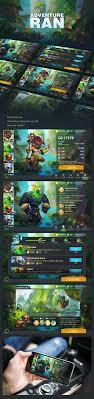 gaming design 87 best 2 images on design ui design