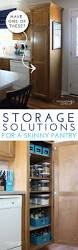 best 25 apartment kitchen organization ideas on pinterest organize this storage solutions for a skinny pantry