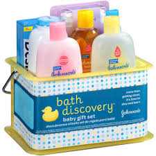Baby Gift Sets Johnsons Bath Discovery Baby Gift Set Johnson Bundle 8 Items New