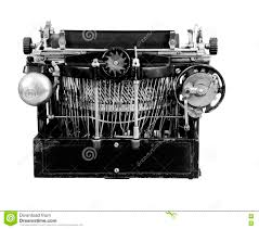 working manual typewriter for sale vintage manual typewriter from the back stock photo image 70613279
